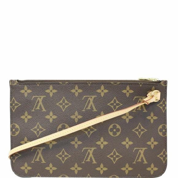 Louis Vuitton Handbags - LOUIS VUITTON Pochette Wristlet Pouch Damier Ebene
